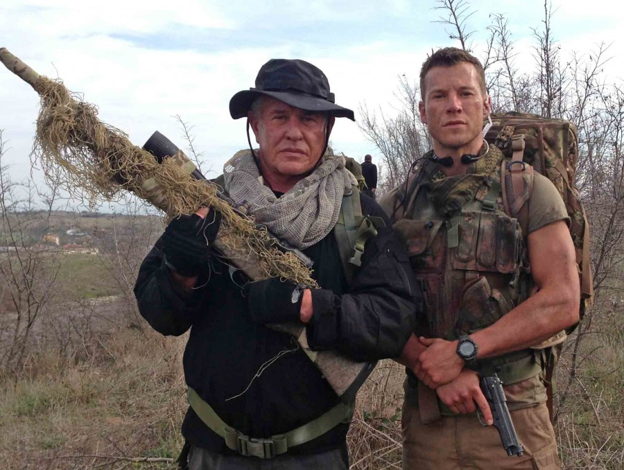 Actor Chad Michael Collins Continues The Sniper Legacy