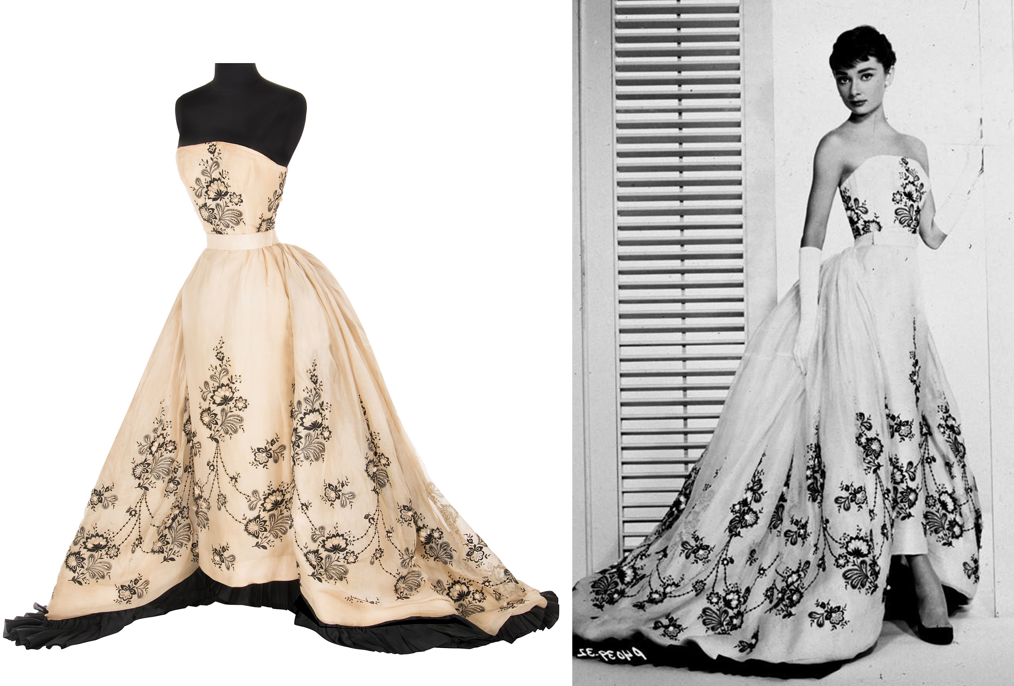 """You Could Own Audrey Hepburn's Couture Gown From """"Sabrina ..."""