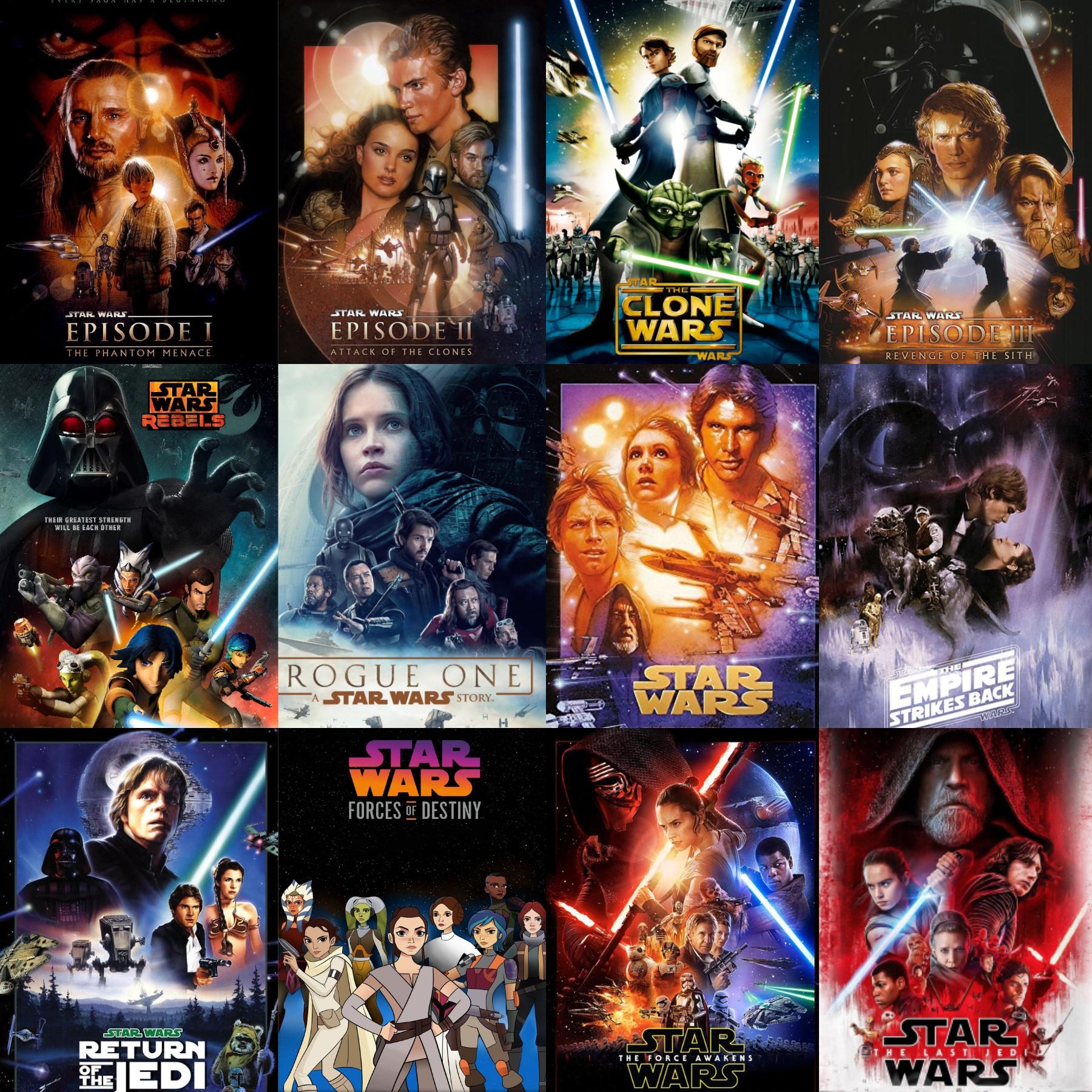 Geplante Star Wars Filme