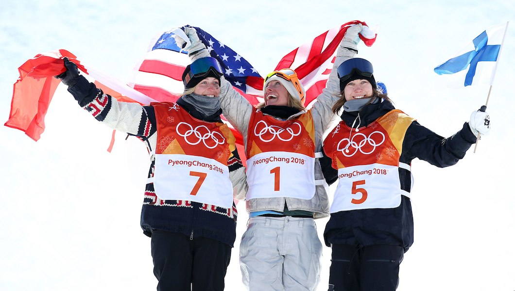 Winter Olympics: USA's Jamie Anderson Wins Gold In ...