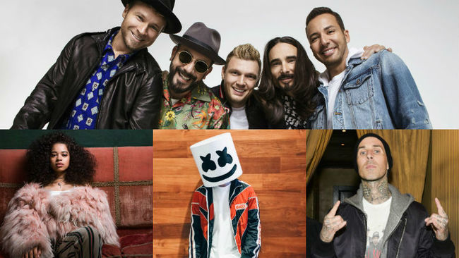 Backstreet Boys, Marshmello & More To Perform At 2019