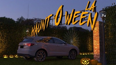 hauntoween, woodland hills, halloween, haunted house, drive thru