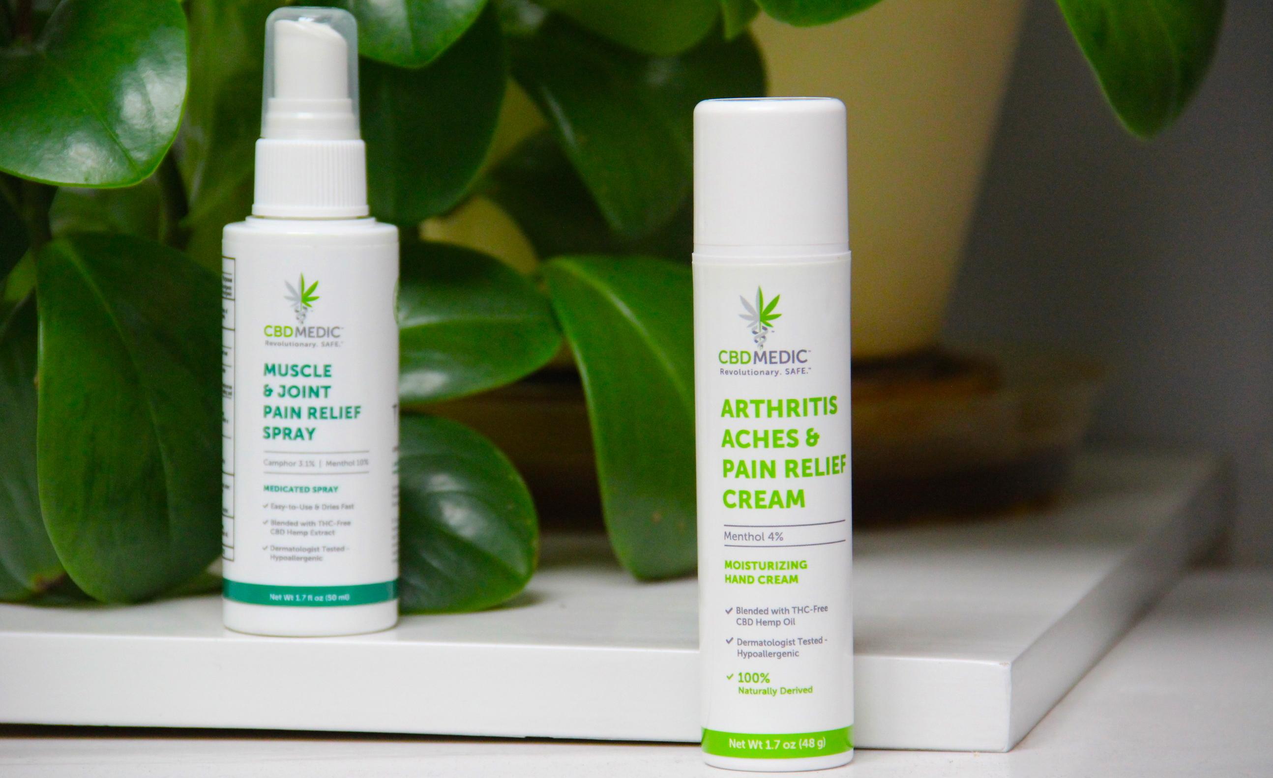 cbdmedic, charlottes web, arthritis, relief, cbd cream