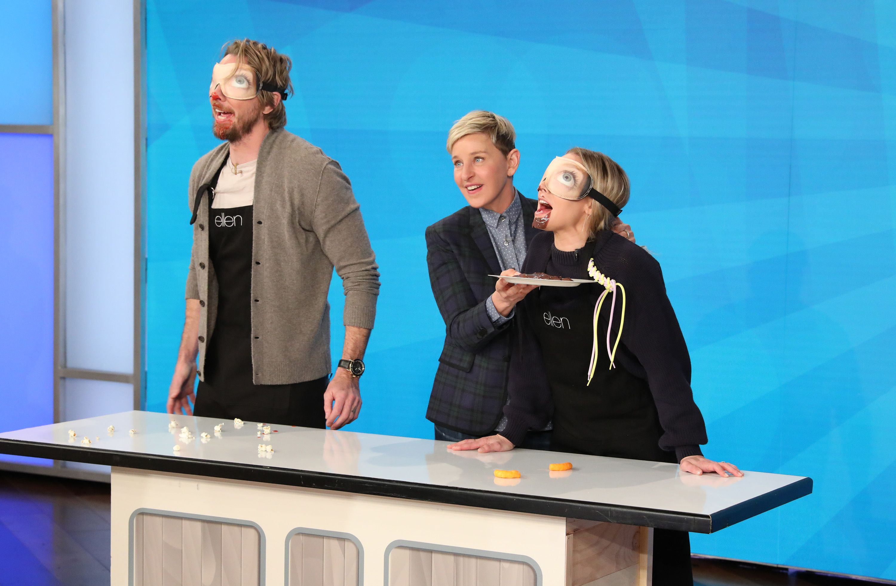 Kristen Bell and Dax Shepard, family game night, nbc